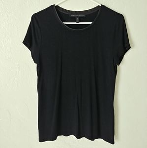 White House Black Market black tee shirt
